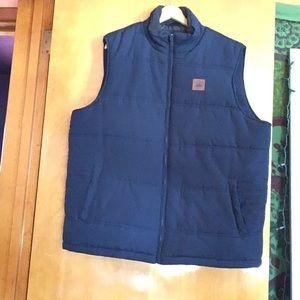 Field & Stream Navy Puffy Vest
